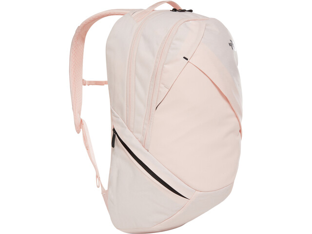 The North Face Isabella Sac à dos Femme, pink salt light heather/tnf black